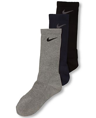 Nike Men's Athletic Performance Lightweight Crew Socks 3-Pack