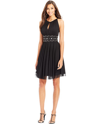 Innovative Betsy Amp Adam Dress Sleeveless Belted From Macys  What I Like