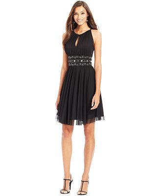 Innovative Betsy Amp Adam Dress Sleeveless Belted From Macys  What I Like