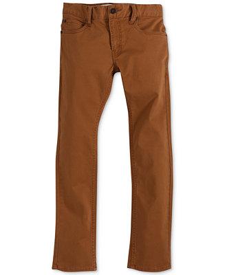 levi 39 s boys 39 511 slim fit sueded pants jeans kids. Black Bedroom Furniture Sets. Home Design Ideas