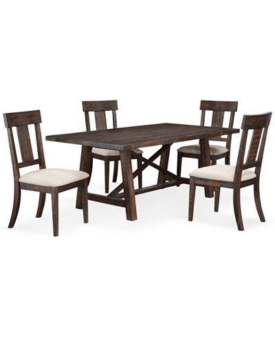 Ember 5 Piece Dining Room Furniture Set Only At Macy 39 S Furniture Ma