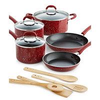 Martha Stewart 12-Pc. Speckle Cookware Set