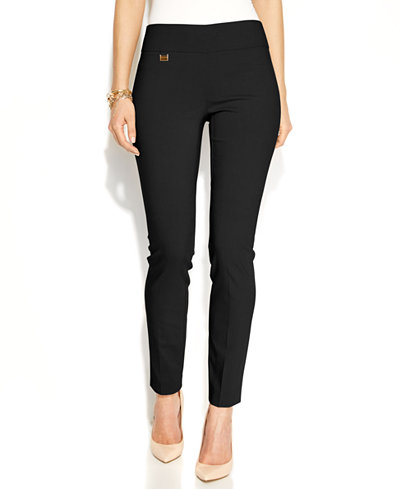 Alfani Tummy Control Skinny Pants Only At Macy S Pants