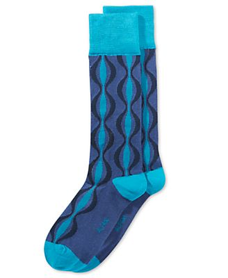 Alfani Men's Retro Stripe Socks, Only at Macy's
