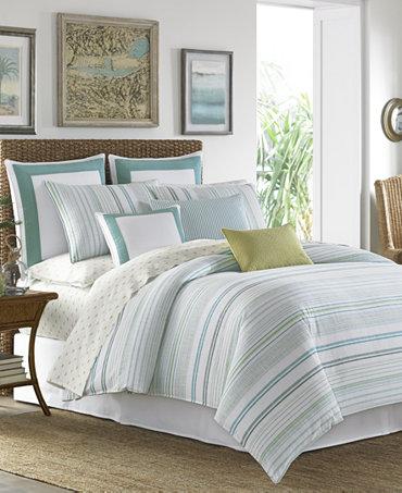 Tommy Bahama Home La Scala Breezer Seaglass 4 Pc Bedding