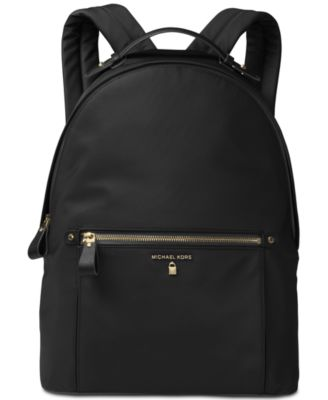 MICHAEL KORS Michael  Kelsey Large Backpack in Black