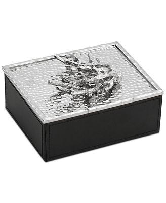 Michael aram ocean jewelry box serveware dining for Macy s standing jewelry box