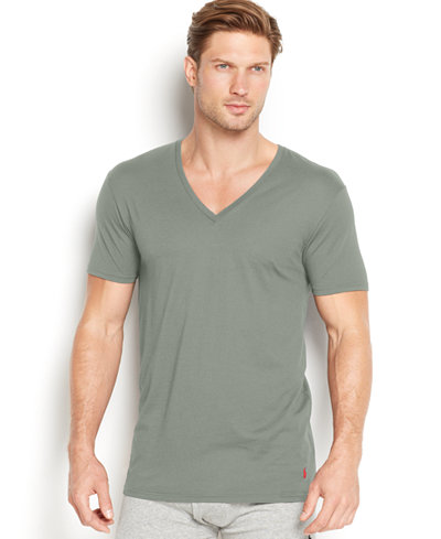 Ralph Lauren Mens Supreme Comfort V-Neck T-Shirt