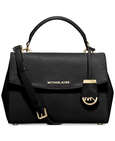 michael michael kors ava small top handle satchel handbags accessories macy 39 s. Black Bedroom Furniture Sets. Home Design Ideas