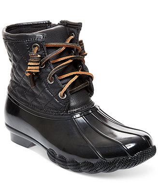 Steve Madden Tillis Duck Booties Boots Shoes Macy S
