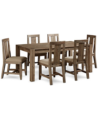 Canyon 7 Piece Dining Set Only At Macy S Table And 6