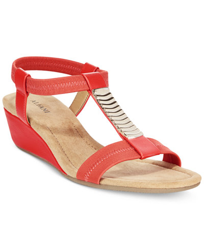 Alfani Women S Vacay Wedge Sandals Only At Macy S