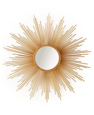 Home Design Studio Large Sunburst Mirror Mirrors Macy S