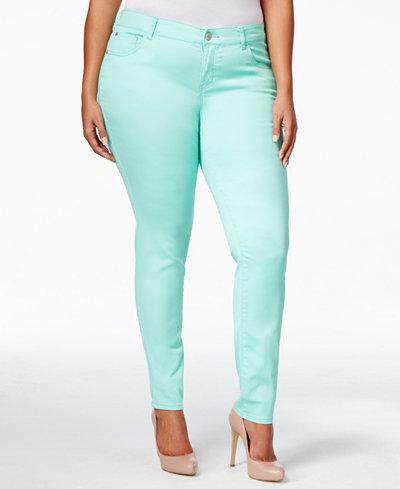 Celebrity Pink Skinny Women's Plus Size Jeans - Macy's