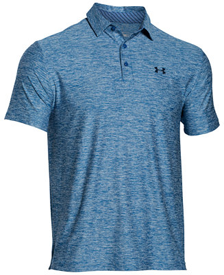 Under Armour Men S Playoff Performance Heather Golf Polo