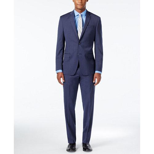 DKNY Mens Slim Fit Suit