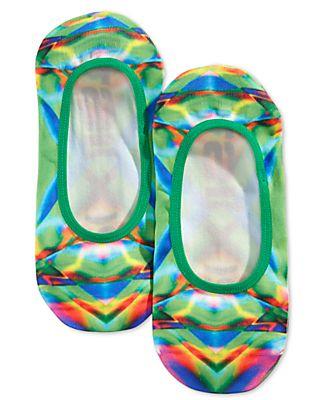 2(x)ist Men's Printed Liner Socks