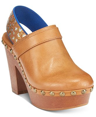 Dolce by Mojo Moxy Whiplash Slingback Clogs - Sandals ...