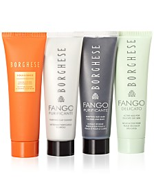 Receive a free 4-piece bonus gift with your $50 Borghese purchase
