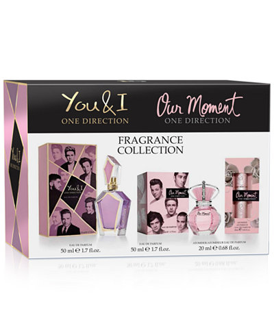 one direction 3pc fragrance collection gift set shop