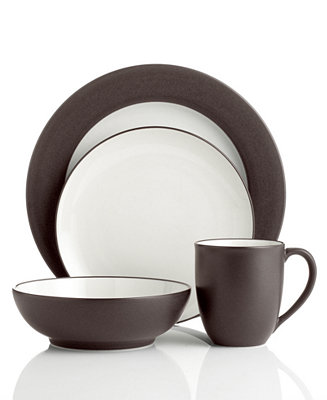 Noritake Colorwave Chocolate Dinnerware Collection