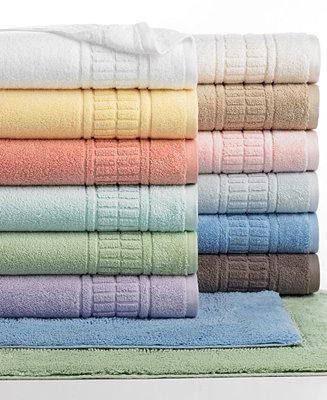 Martha Stewart Collection Plush Bath Towel Collection 100