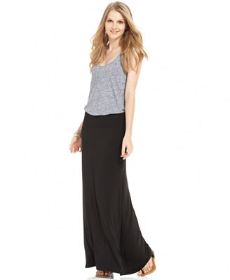 kensie solid knit maxi skirt skirts macy s