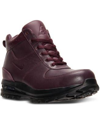 794d8c515b5f nike store soho new york nike acg boots burgundy