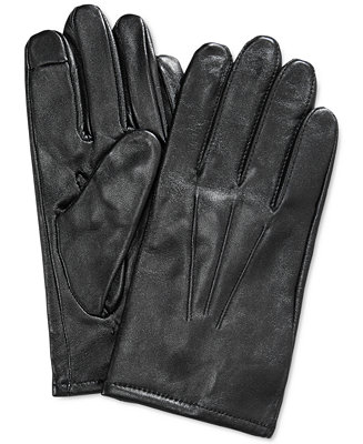 Club Room Gloves Leather Touchscreen Hats Gloves