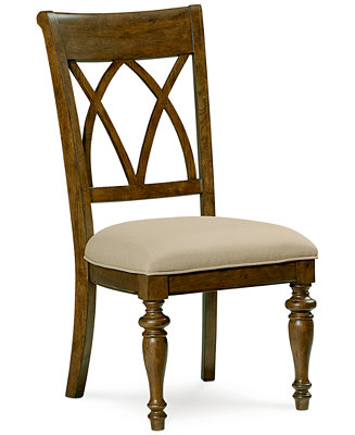 Oak harbor side chair furniture macy 39 s for Furniture oak harbor