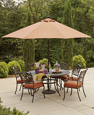 Chateau Outdoor Dining Collection Furniture Macy 39 S