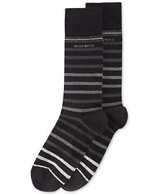 Hugo Boss Men's Striped Socks