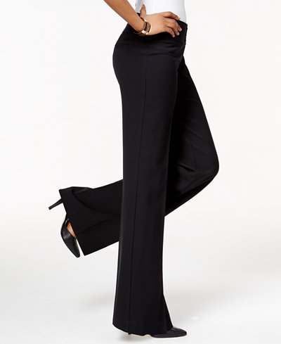 Style Amp Co Stretch Wide Leg Pants Only At Macy S Pants