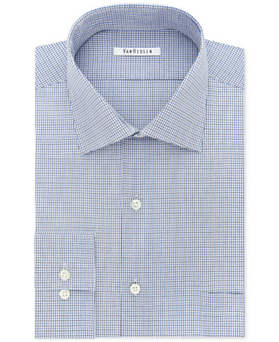 Van heusen men 39 s classic fit flex collar multi check dress for Van heusen shirts flex collar