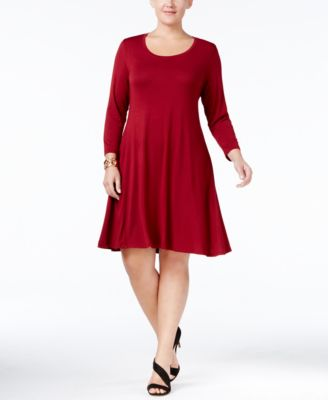 Style & Co. Plus Size Swing Dress, Only at Macy's