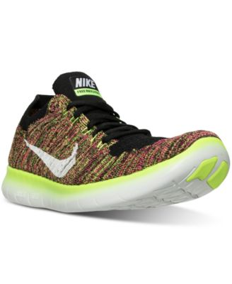 Nike Men\u0026#39;s Free Run Flyknit Running Sneakers from Finish Line