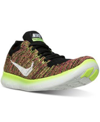 Nike Men\u0026#39;s Free Run Flyknit Running Sneakers from Finish Line