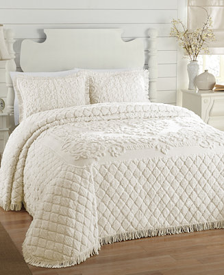 Josephine Full Chenille Bedspread Quilts Amp Bedspreads