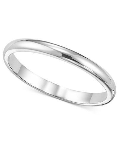 women 39 s ring 2mm platinum wedding band rings jewelry watches macy 39 s. Black Bedroom Furniture Sets. Home Design Ideas