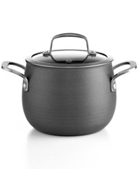 Belgique Hard Anodized 3-Quart Covered Soup Pot with Lid