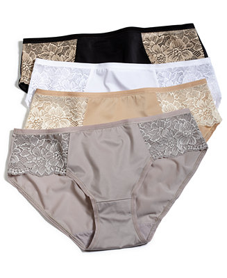 Bali Satin Lace Bikini 2829 Bras Panties Amp Shapewear