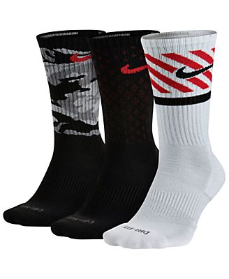 Nike Dri-FIT Triple Fly Crew Socks 3-Pack