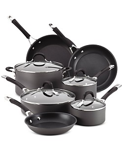Circulon Momentum 11-Piece Cookware Set + Circulon Momentum 3-Qt. Covered Saucepot