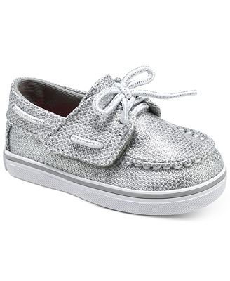 Sperry Baby Girls Bahama Crib Jr Boat Shoes Shoes