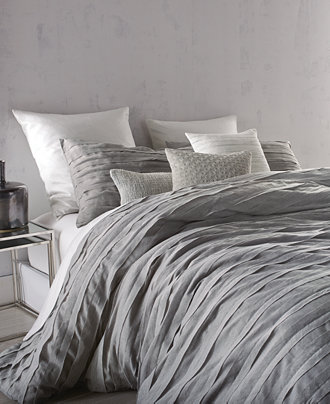 Dkny Loft Stripe Gray Duvet Covers Bedding Collections