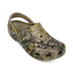 Crocs Classic Realtree Xtra Mens Clog (Khaki Beiges)