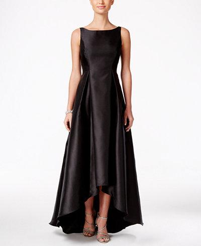 adrianna papell highlow ball gown  dresses  women  macy's
