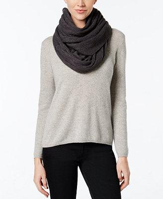 calvin klein oversized infinity scarf handbags