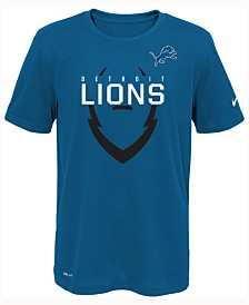 Girls Youth Detroit Lions 5th & Ocean by New Era Black Cutest Fan Tri-Blend Pullover Hoodie