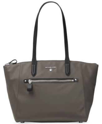 MICHAEL KORS Michael  Kelsey Top-Zip Medium Tote in Graphite
